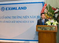 Đại hội cổ đông công ty cổ phần bất động sản Exim