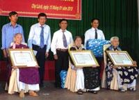Eximland với công tác chăm sóc, phụng dưỡng mẹ Việt Nam anh hùng